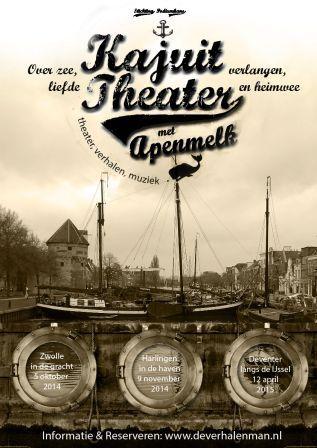Kajuittheater poster